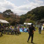 宮崎県西米良村越野尾地区「桜まつり&桜ウォーキング」当日のお手伝い