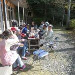 諸塚村八重の平地区 春のお祭り前日のお手伝い