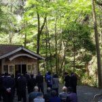 諸塚村八重の平地区 春のお祭り当日