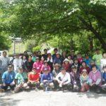 宮崎県中川地区チューリップの掘り起こし作業