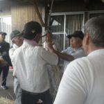 宮崎市高岡町飯田地区「早馬神社のしめ縄作り」のお手伝いのはずが、、、