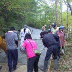 諸塚村八重の平地区「生コンクリート舗装のお手伝い」その2