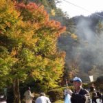 「見立渓谷紅葉祭り」のお手伝い~宮崎県日之影町見立地区~